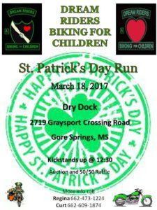 Ch. A – ST. PATRICK'S DAY RUN / THIS EVENT HAS BEEN CANCELLED